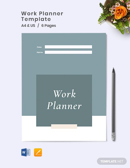 Work Planner Template