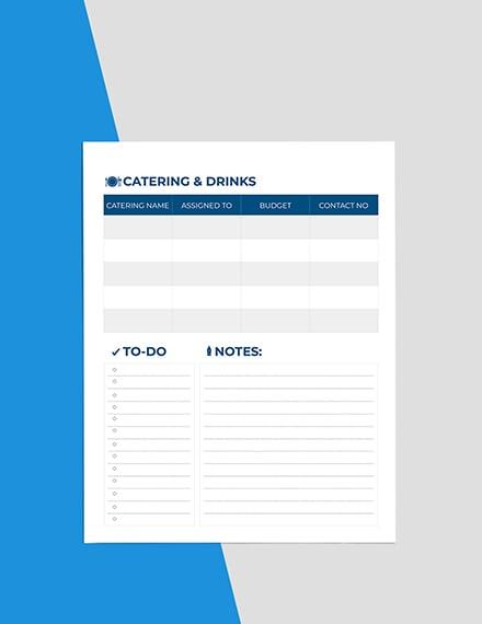 Basic Event Planner Editable