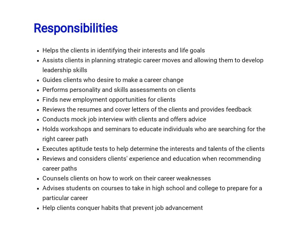 Free Career Consultant Job Description Template 3.jpe