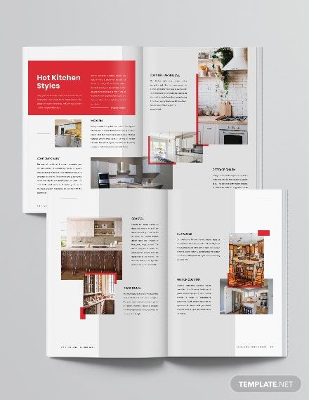 Layout Real Estate Magazine Download