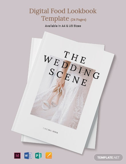 Wedding Sale Magazine Template