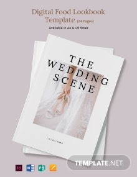 Wedding Sale Magazine Template