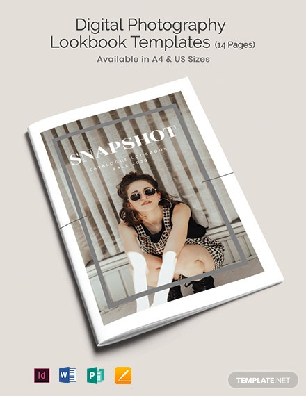 Digital Photography Lookbook Template