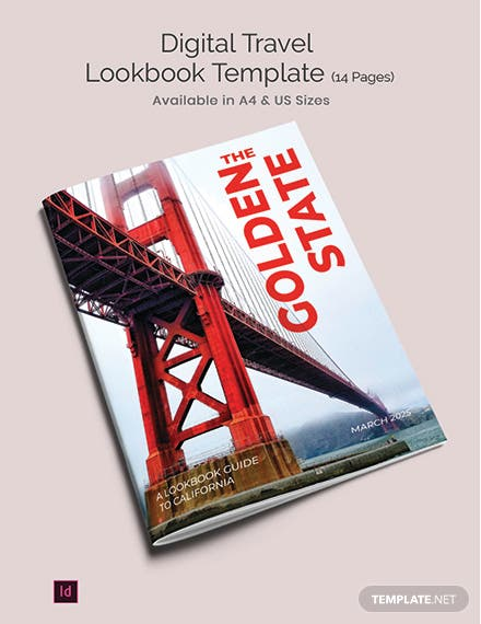 Digital Travel Lookbook Template