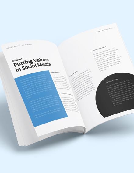 Social Media Planner Workbook Download