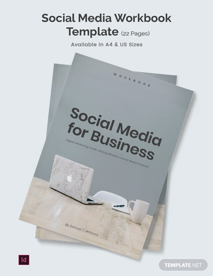 Social Media Workbook Template