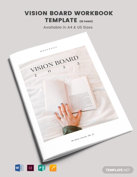 Vision Board Workbook Template