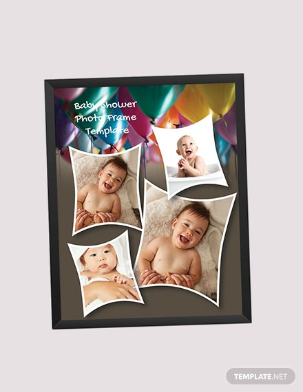 Baby Shower Photo Frame Download