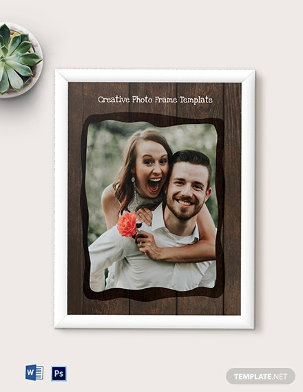 Free Creative Photo Frame Template