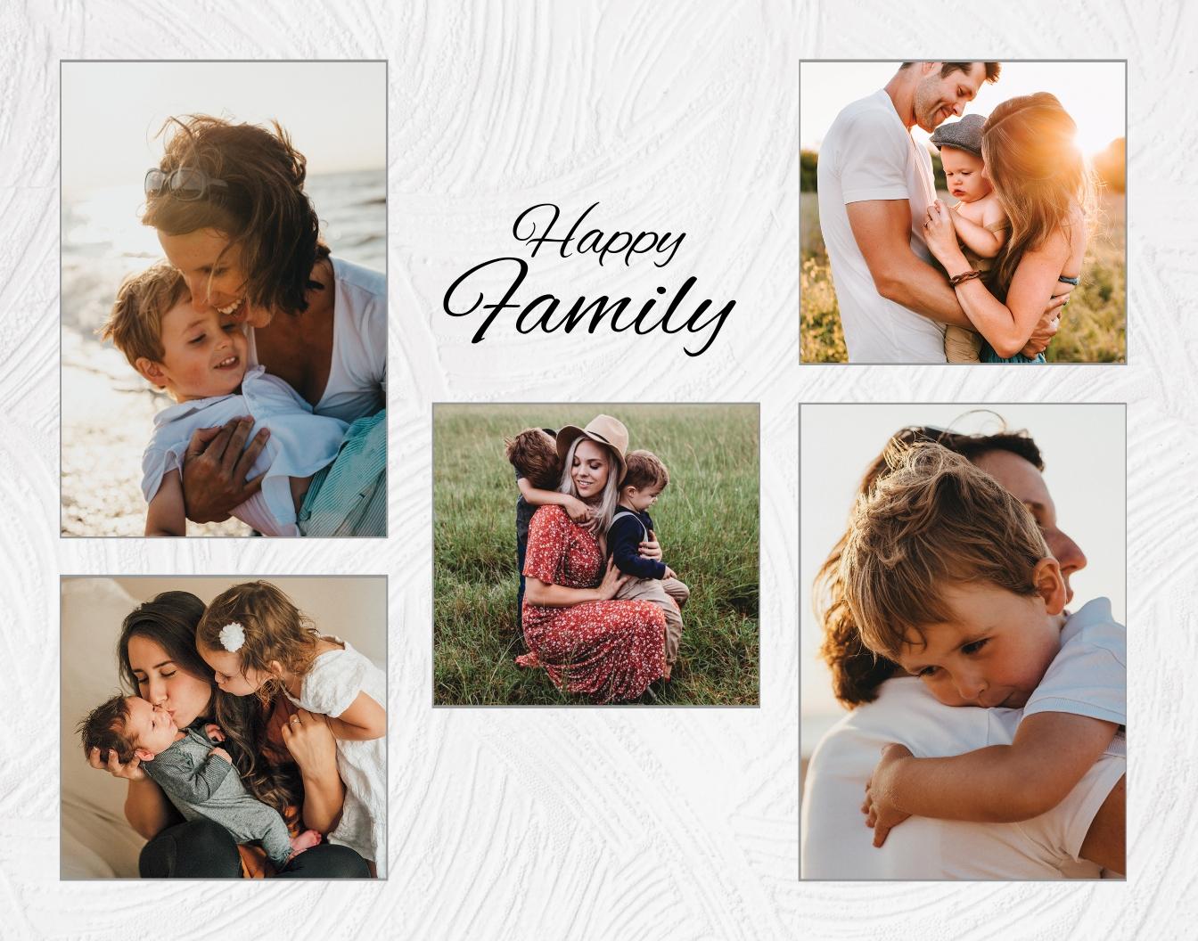Editable Photo Frame Template
