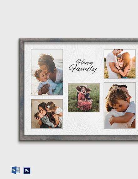 Free Editable Photo Frame Template