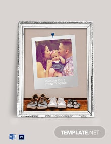 Free Family Photo Frame Template