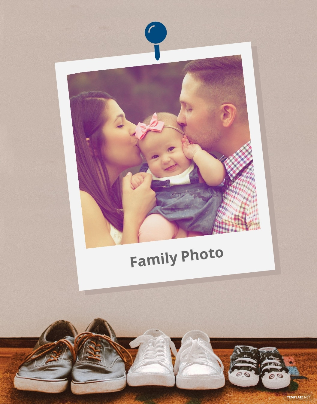 Family Photo Frame Template