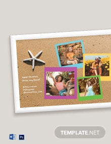 Free Selfie Photo Frame Template