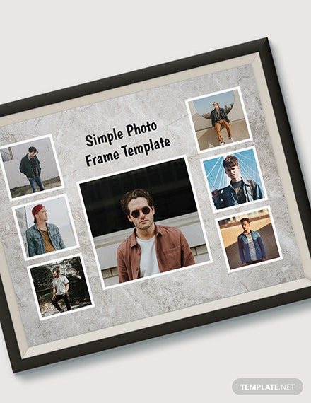 Simple Photo Frame Template