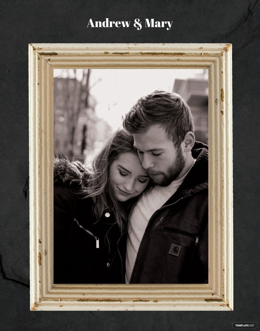 Vintage Photo Frame Template