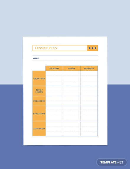 High School Teacher Planner Editable