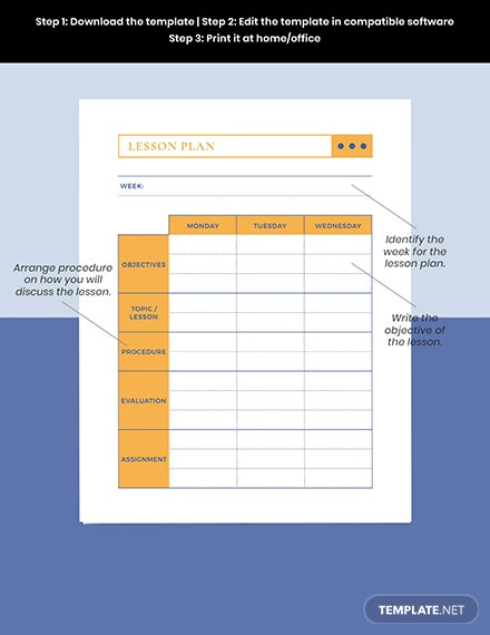 High School Teacher Planner Download