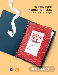 Holiday Party Planner Template