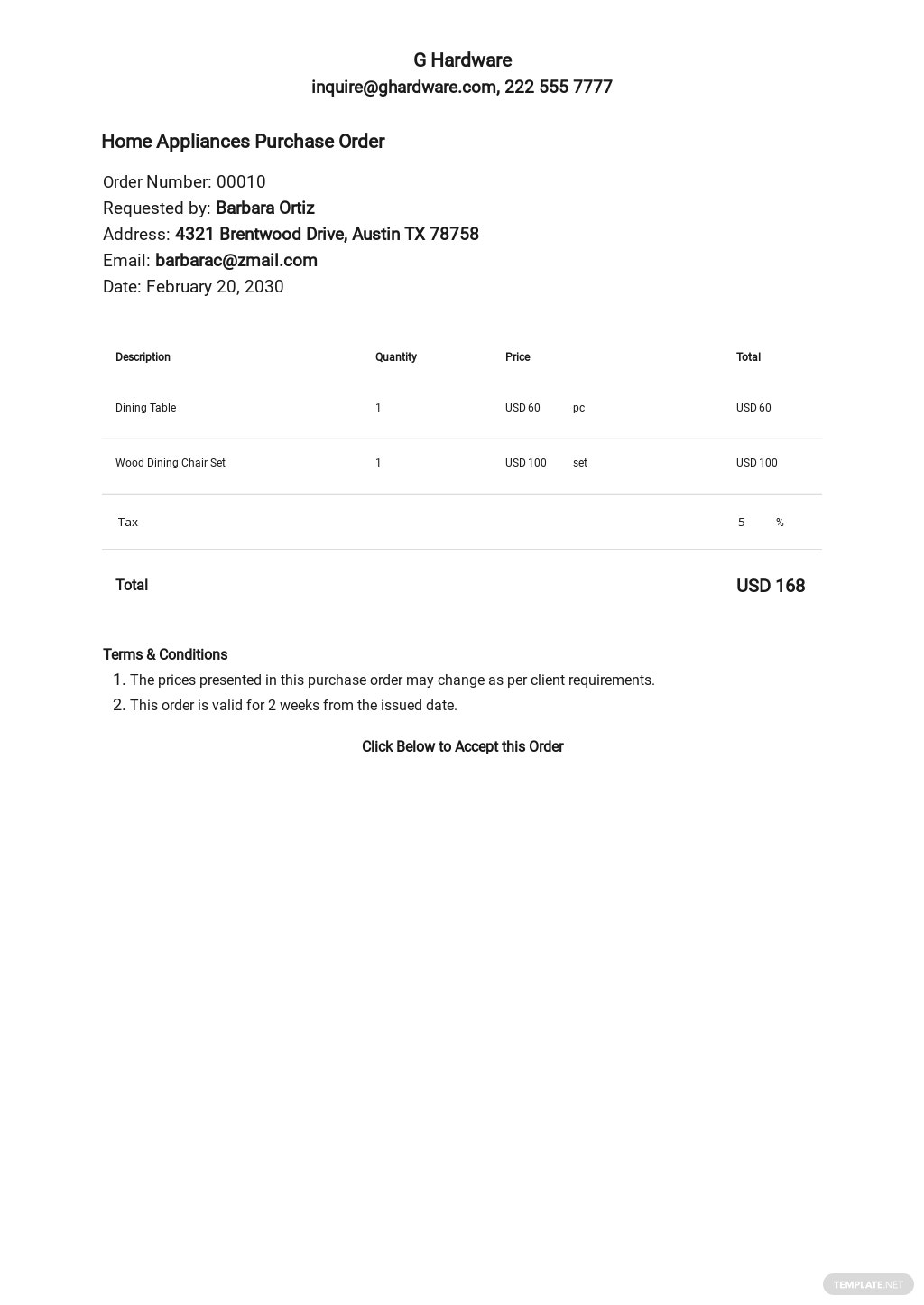 Free Blank Purchase Order Template.jpe