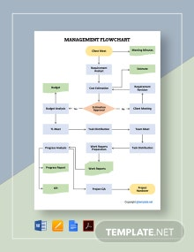 Free Sample Management Flowchart Template