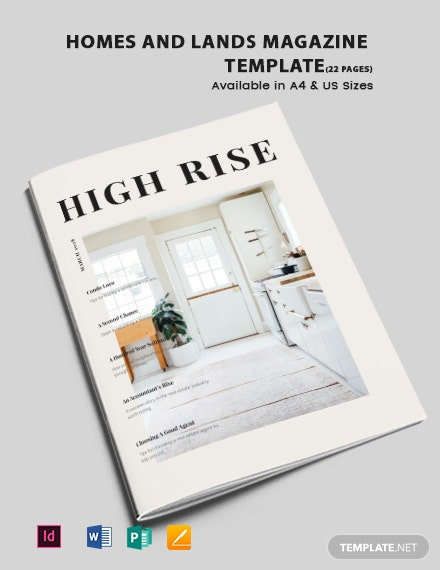 Homes and Lands Magazine
