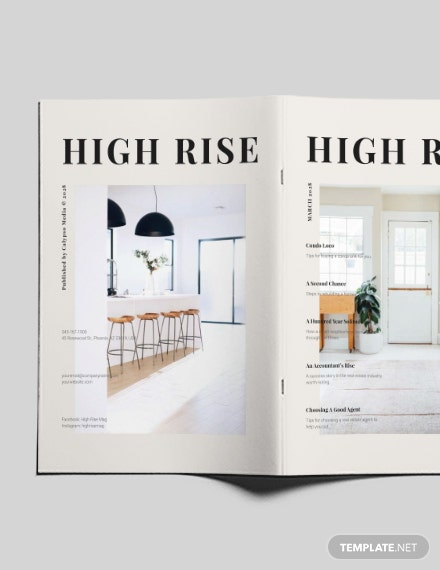Sample Homes and Lands Magazine