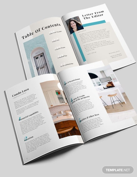 Homes and Lands Magazine Template