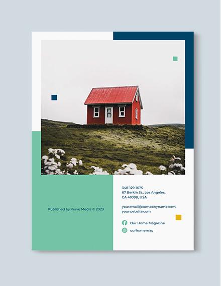 Sample House Magazine
