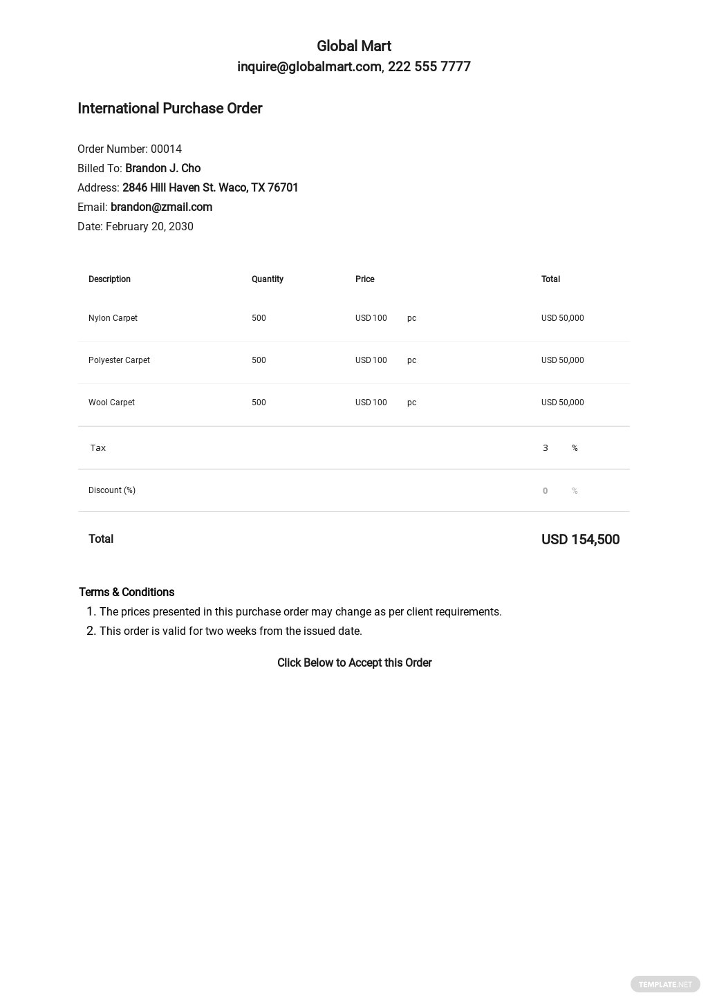 Free International Purchase Order Template.jpe