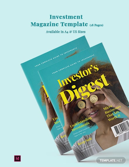 Investment Magazine Template