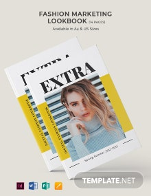 Fashion Marketing Lookbook Template