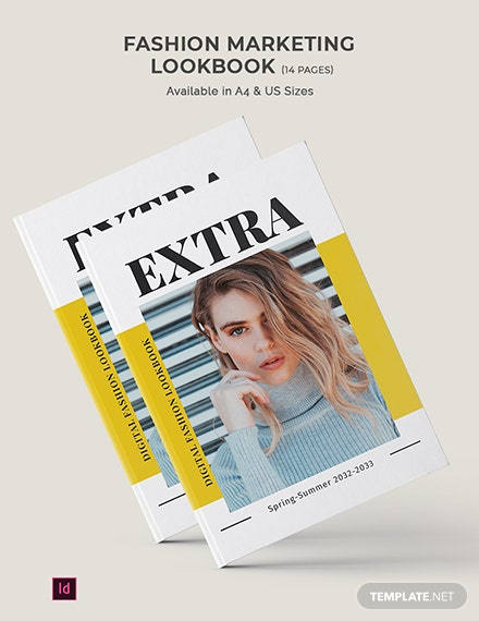 fashion marketing lookbook