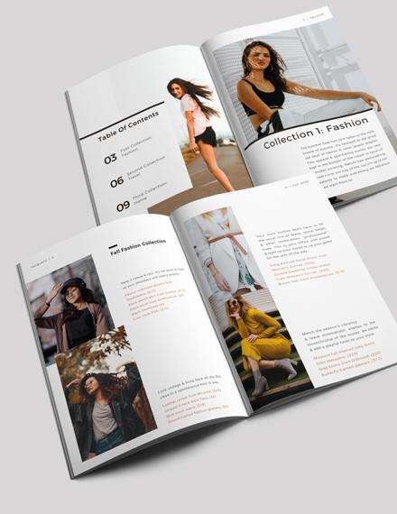 Lifestyle Lookbook Template