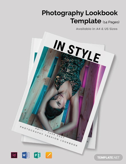 Photography Lookbook Template