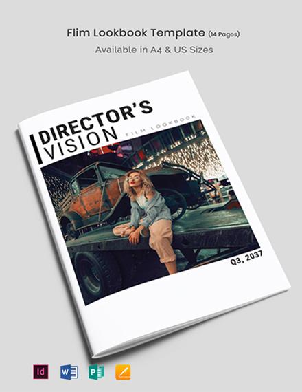 Film Lookbook Template