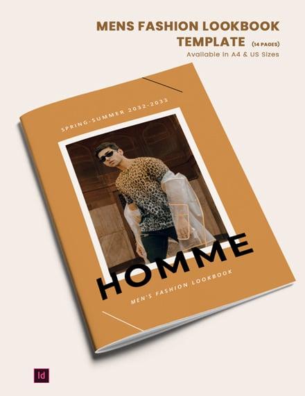 mens fashion lookbook