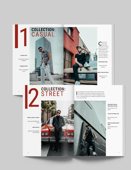 Mens Lifestyle Lookbook Download