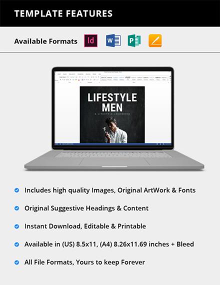 Simple Mens Lifestyle Lookbook