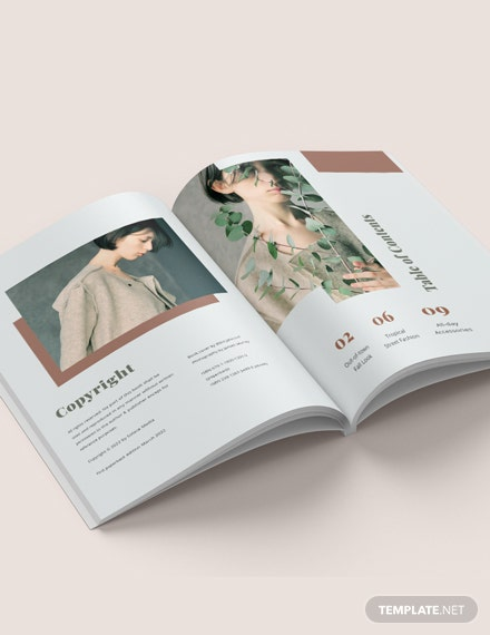 Photography Style Guide Lookbook Template
