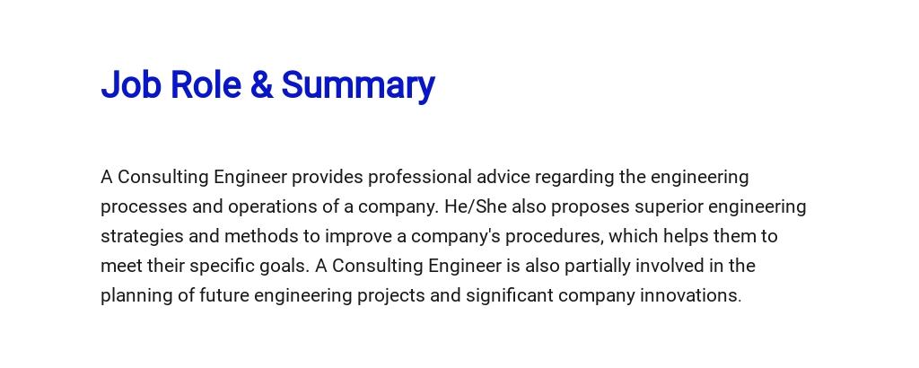 Free Consulting Engineer Job Description Template 2.jpe