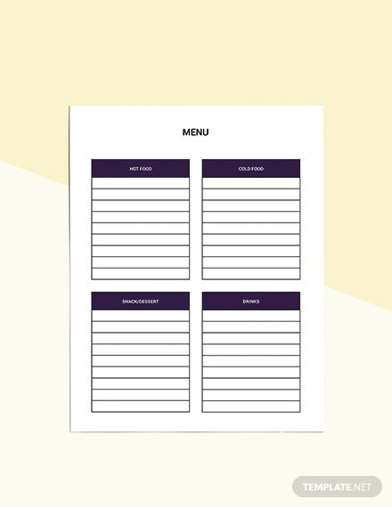 Event Party Planner template Download