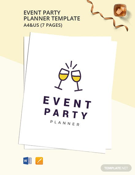 Event Party Planner Template
