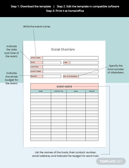 Event Planning Tracker Download