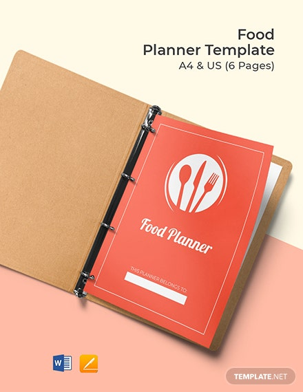 Food Planner Template