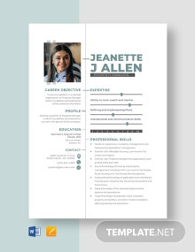 Property Manager Resume Template