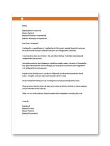 Sample Sponsorship Letter for Donation