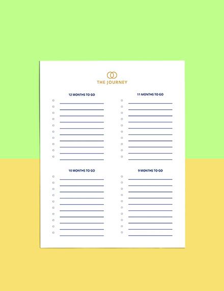 Luxury Wedding Planner Template Download