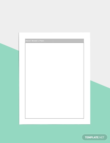 Basic Daily Planner Download