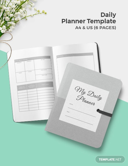 Free Basic Daily Planner Template